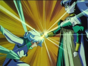 Sailor Moon SuperS episode 164 - Nehelenia takes the Golden Crystal