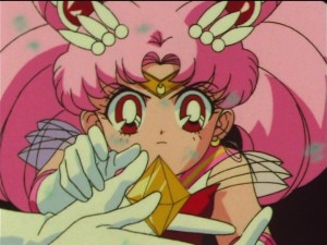 Sailor Moon SuperS episode 165 - Sailor Chibi Moon and The Golden Crystal