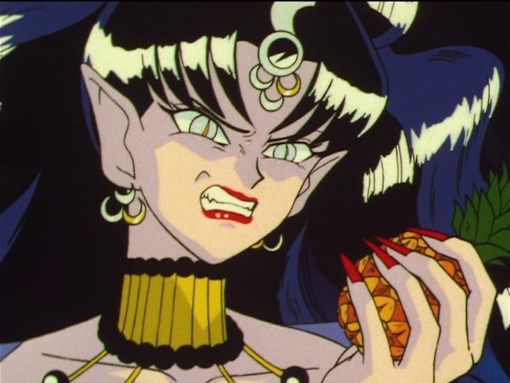 Sailor Moon SuperS episode 165 - The Golden Crystal is a pineapple