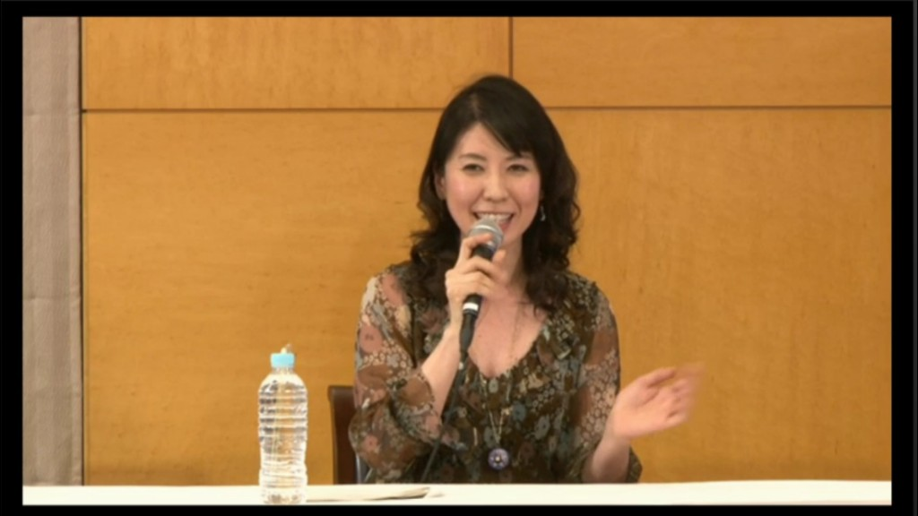 Kotono Mitsuishi, the voice of Sailor Moon