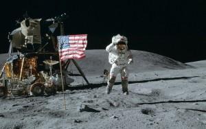 The Moon landing in 1969