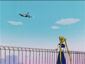 Sailor Moon Sailor Stars episode 173 - Mamoru leaves for America