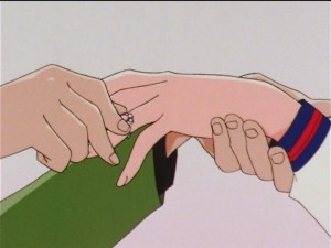 Sailor Moon Sailor Stars episode 173 - Mamoru proposes to Usagi