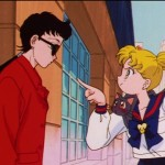 Sailor Moon Sailor Stars episode 174 - Seiya and Usagi