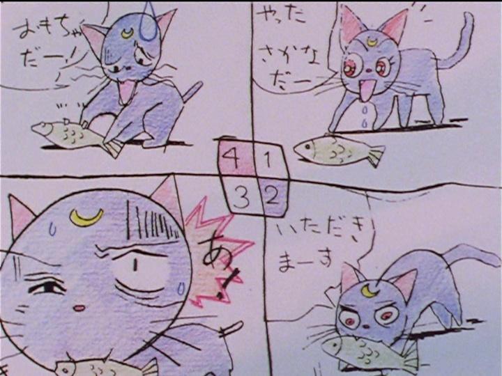 Sailor Moon Sailor Stars episode 174 - Usagi's Luna comic