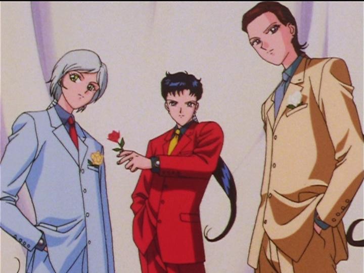 Sailor Moon Sailor Stars episode 175 - The Three Lights