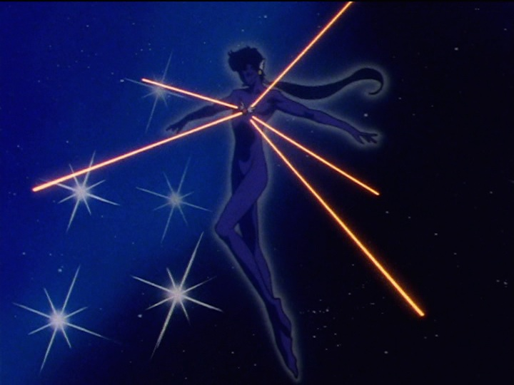 Sailor Moon Sailor Stars episode 176 - Seiya transforming