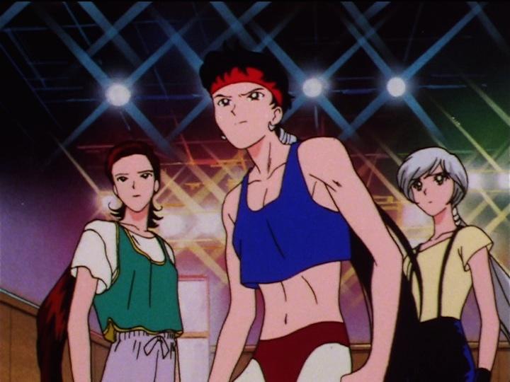 Sailor Moon Sailor Stars episode 176 - Taiki, Seiya and Yaten