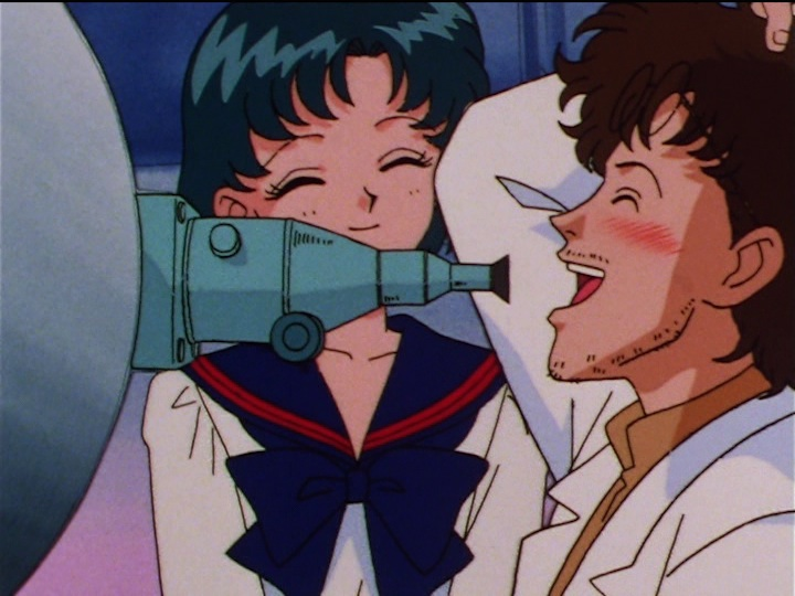 Sailor Moon Sailor Stars episode 177 - Ami and Wataru Amanogawa