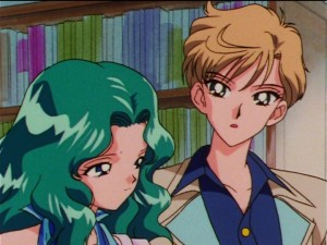 Sailor Moon Sailor Stars episode 179 - Michiru and Haruka
