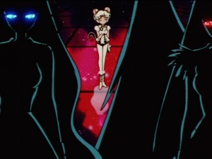 Sailor Moon Sailor Stars episode 179 - Sailor Aluminum Siren, Sailor Iron Mouse and Sailor Lead Crow