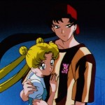 Sailor Moon Sailor Stars episode 181 - Usagi and Seiya