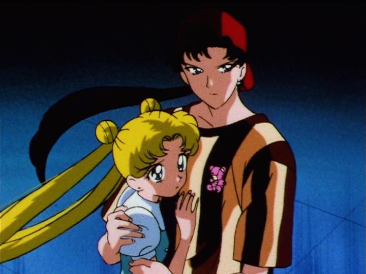 Sailor Moon Sailor Stars episode 181 - Usagi and Seiya