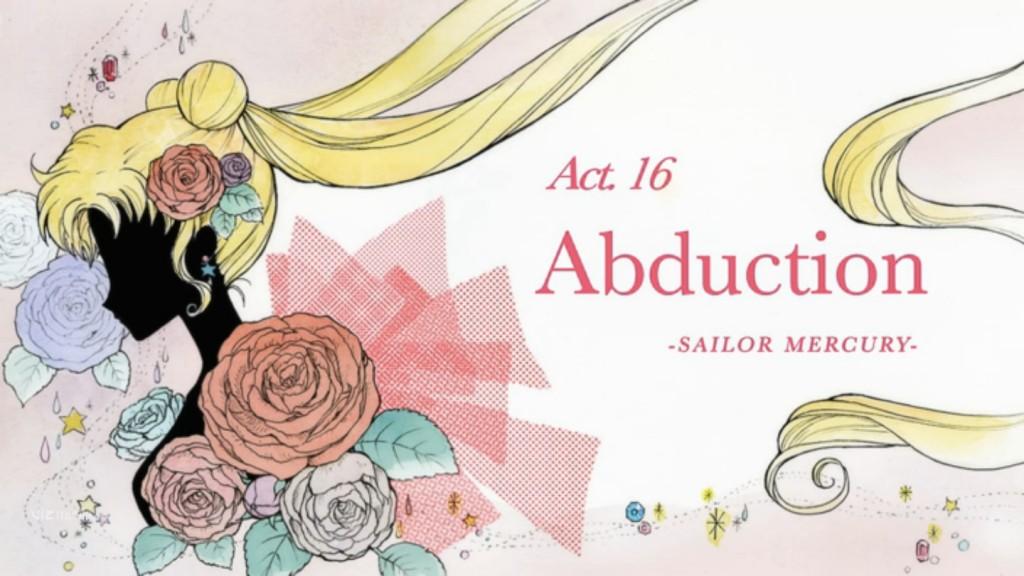 Sailor Moon Crystal Act 16, Abduction - Sailor Mercury