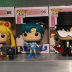 Sailor Moon Funko Pop! Vinyl Sailor Mars, Sailor Moon, Luna, Sailor Mercury, Tuxedo Mask, Artemis, Sailor Jupiter, Sailor Venus