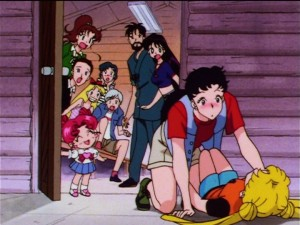 Sailor Moon Sailor Stars episode 183 - Chibi Chibi creating drama
