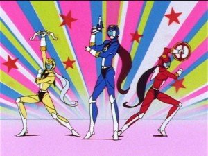 Sailor Moon Sailor Stars episode 183 - Chou Yellow, Chou Blue and Chou Red