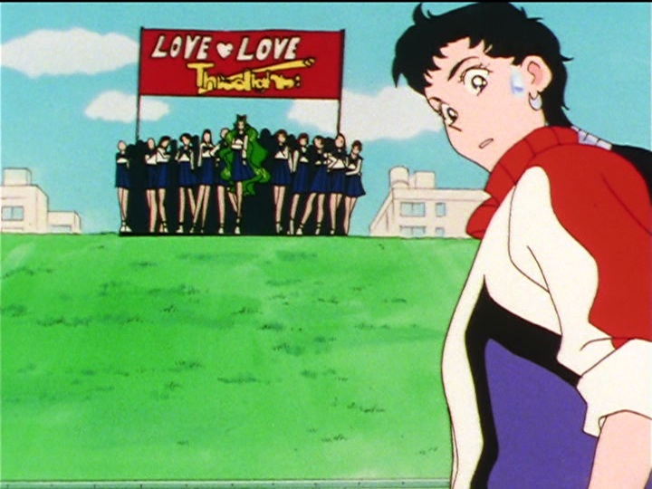 Sailor Moon Sailor Stars episode 187 - The Three Lights fan club has unexplainable clout