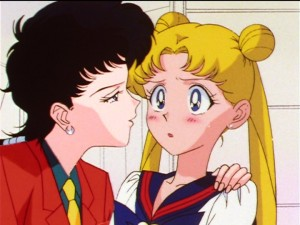 Sailor Moon Sailor Stars episode 188 - Seiya and Usagi