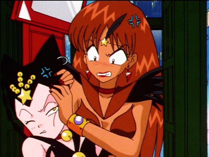 Sailor Moon Sailor Stars episode 189 - Sailor Tin Nyanko and Sailor Lead Crow
