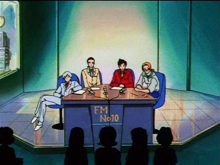 Sailor Moon Sailor Stars episode 189 - The Three Lights on FM No. 10
