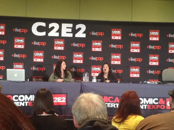 Moon Panel at C2E2 with Michelle Ruff and Stephanie Sheh