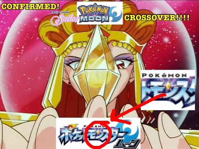 Pokémon Sailor Moon Crossover?