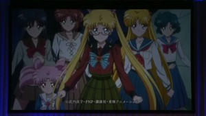 Sailor Moon Crystal Act 27 - The Sailor Guardians ready for battle