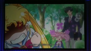 Sailor Moon Crystal Act 27 - Usagi, Chibiusa and Mamoru