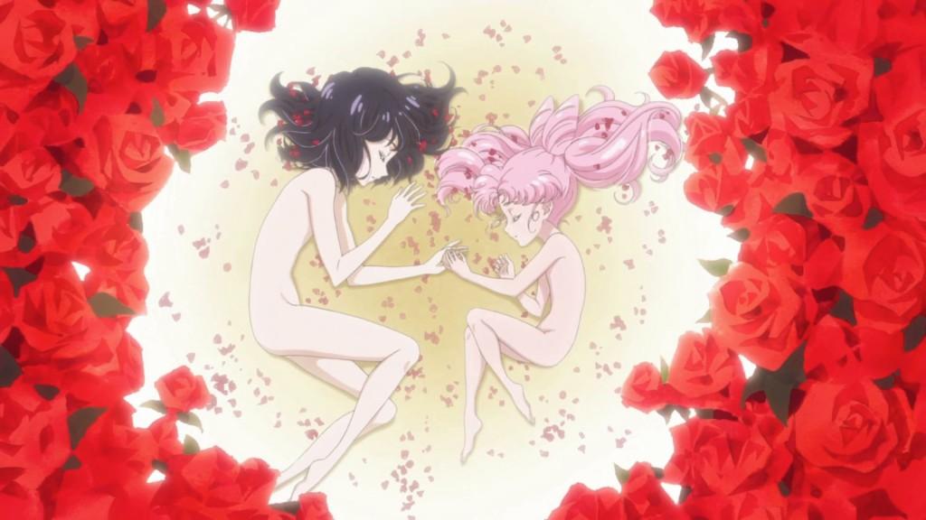 Sailor Moon Crystal Infinity Arc - Opening - Hotaru and Chibiusa