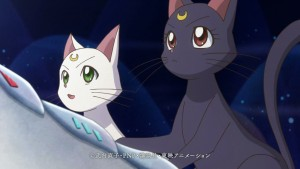 Sailor Moon Crystal Infinity Arc - Preview Trailer - Artemis and Luna