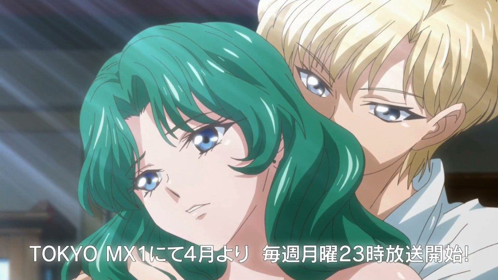 Sailor Moon Crystal Infinity Arc trailer - Michiru and Haruka