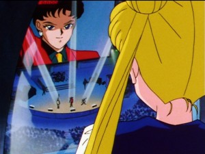 Sailor Moon Sailor Stars episode 190 - Seiya sings for Usagi