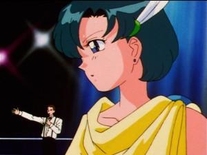 Sailor Moon Sailor Stars episode 191 - Ami dressed as Palutena