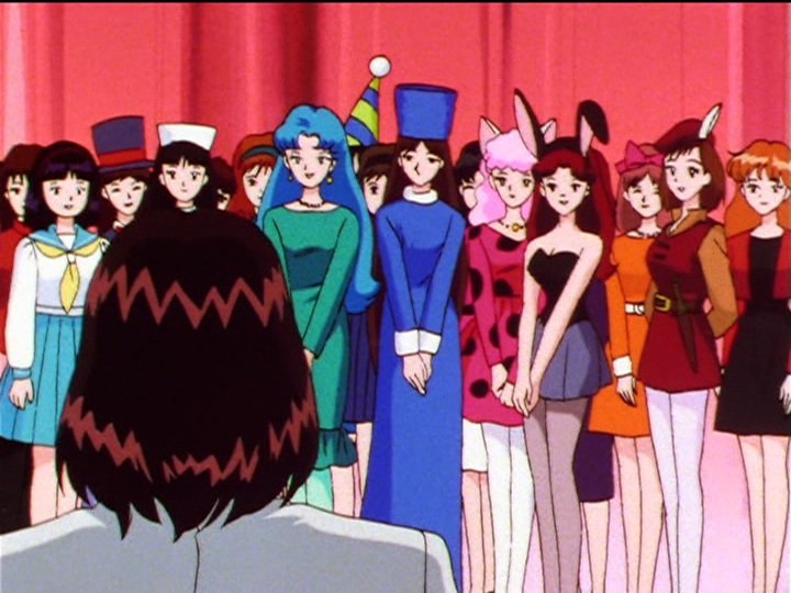 Sailor Moon Sailor Stars episode 192 - Idol competion contestants are weird