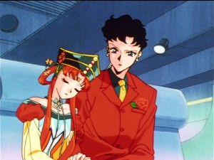 Sailor Moon Sailor Stars episode 194 - Princess Kakyuu and Seiya