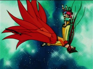 Sailor Moon Sailor Stars episode 195 - Princess Kakyuu and Sailor Chibi Chibi Moon