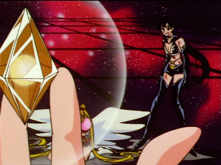 Sailor Moon Sailor Stars episode 196 - Mamoru's Star Seed is better than Seiya