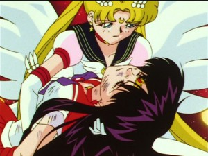 Sailor Moon Sailor Stars episode 196 - Sailor Mars dies