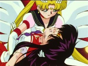 Sailor Moon Sailor Stars episode 196 - Sailor Mars dies