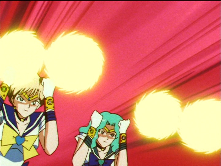 Sailor Moon Sailor Stars episode 197 - Evil Sailor Uranus and Neptune