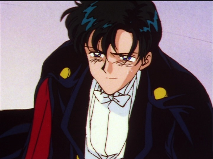 Sailor Moon Sailor Stars episode 197 - Mamoru believes in Usagi