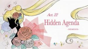 Sailor Moon Crystal Act 22 - Hidden Agenda - Nemesis