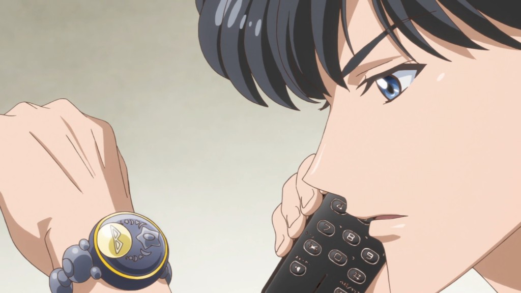 Sailor Moon Crystal Act 27 Part 2 - Mamoru not using his communicator