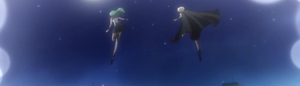 Sailor Moon Crystal Act 27 Part 2 - Sailor Neptune and Uranus fly
