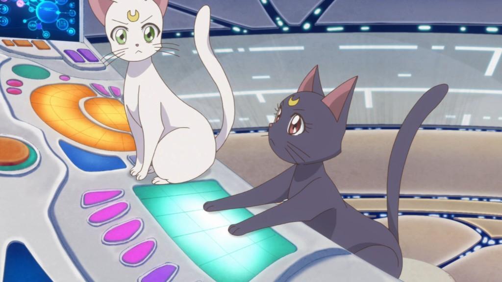 Sailor Moon Crystal Act 27 - Artemis and Luna
