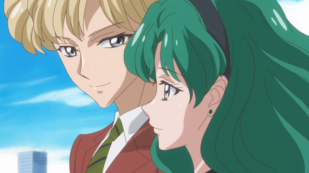 Sailor Moon Crystal Act 27 - Haruka and Michiru