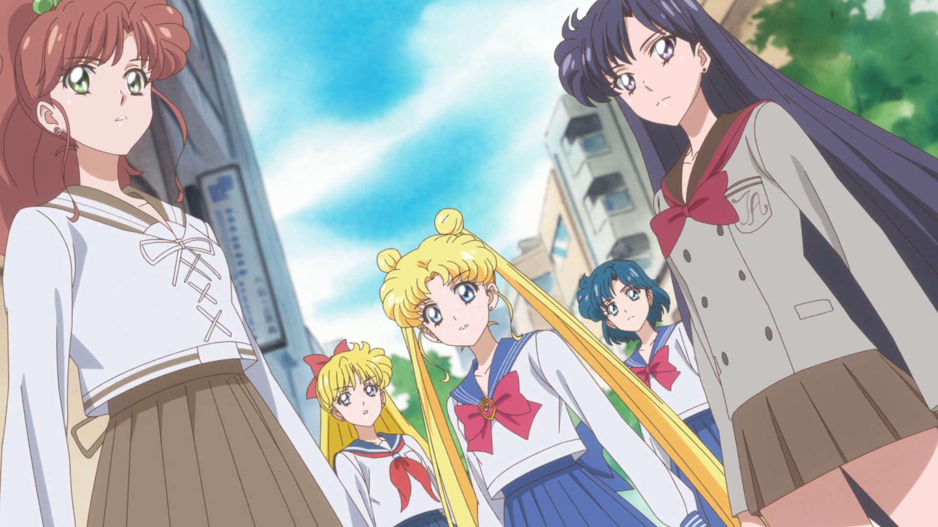 sailor moon crystal act 27 � the sailor team sailor moon