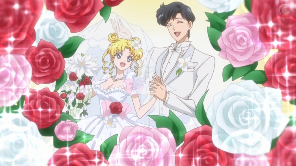 Sailor Moon Crystal Act 27 - Usagi and Mamoru's wedding