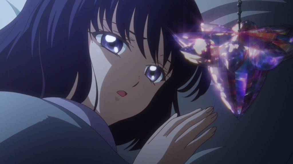 Sailor Moon Crystal Act 28 - Hotaru and the Tarion Crystal